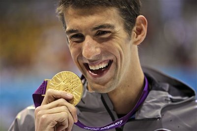 Michael Phelps (AP Photo/Matt Slocum)