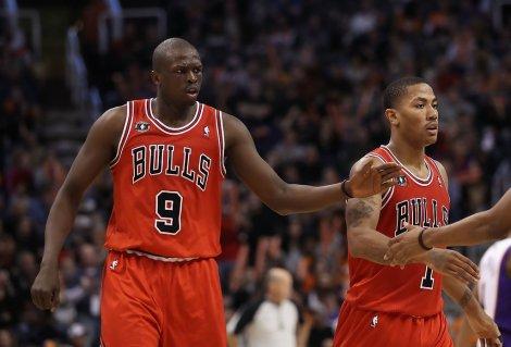 Luol+Deng+Derrick+Rose+Chicago+Bulls+v+Phoenix+_3GDAsOXT42x