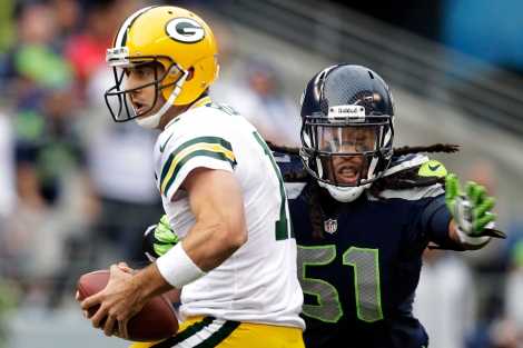 Aaron Rodgers, Bruce Irvin